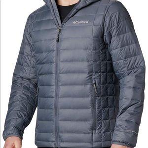 NWOT Columbia turbodown jacket L